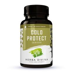 Herba Divina Colo Protect - хранителна добавка в подкрепа на дебелото черво - 60 капсули