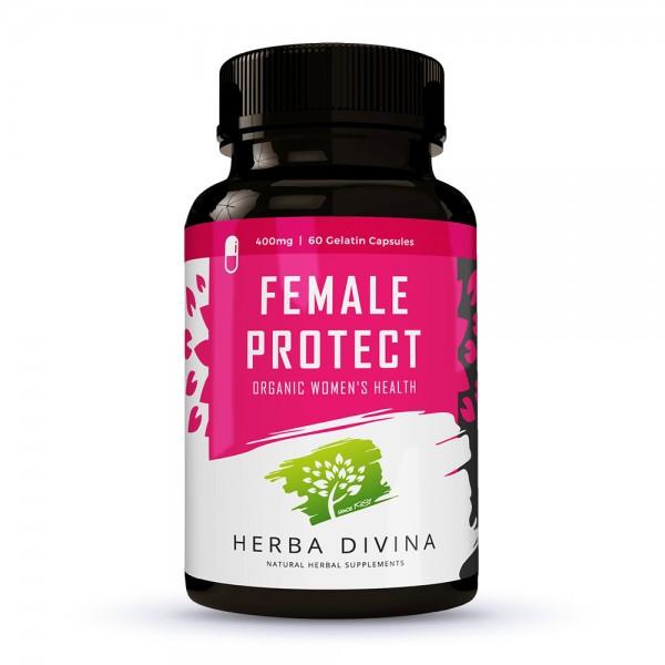 Herba Divina Female Protect - хранителна добавка в подкрепа на женското здраве - 60 капсули