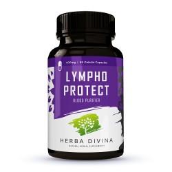 Herba Divina Lympho Protect - хранителна добавка в подкрепа на кръвоносната система - 60 капсули