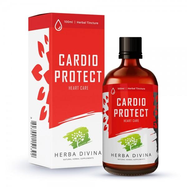 Herba Divina Cardio Protect - хранителна добавка в подкрепа на сърдечната дейност - тинктура 100 мл