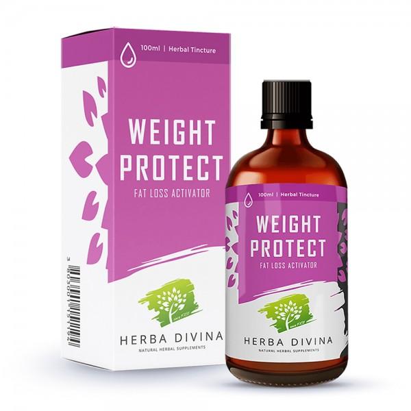 Herba Divina Weight Protect - хранителна добавка в подкрепа на борбата с наднорменото тегло - тинктура 100 мл