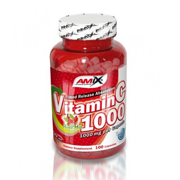 AMIX Vitamin C /with Rose Hips/ 1000mg