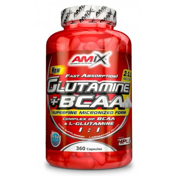 AMIX L-Glutamine + BCAA