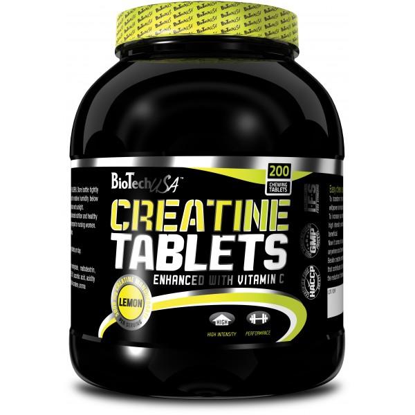 BIOTECH USA Creatine Tablets