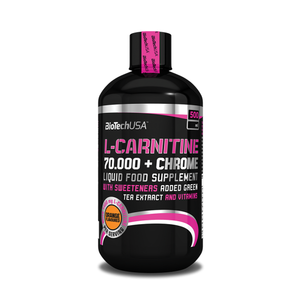 BIOTECH USA L-Carnitine + Chrome 70.000