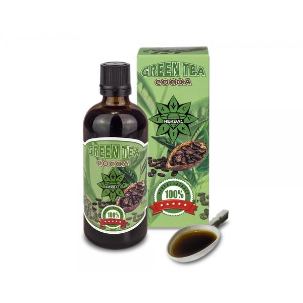 CVETITA HERBAL Green Tea with Cocoa