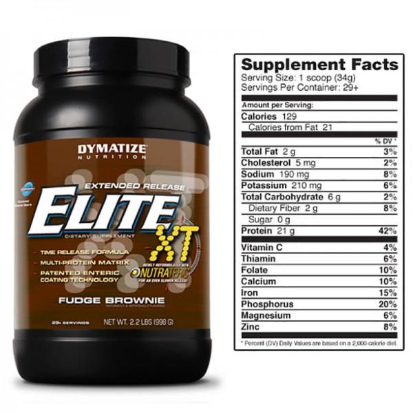 DYMATIZE Elite XT 12-Hour 0.990 kg