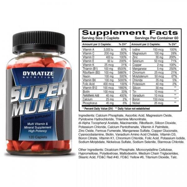 DYMATIZE Super Multi Vitamin