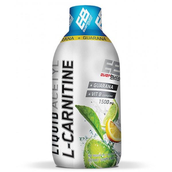 EVERBUILD Liquid Acetyl L-Carnitine + Guarana