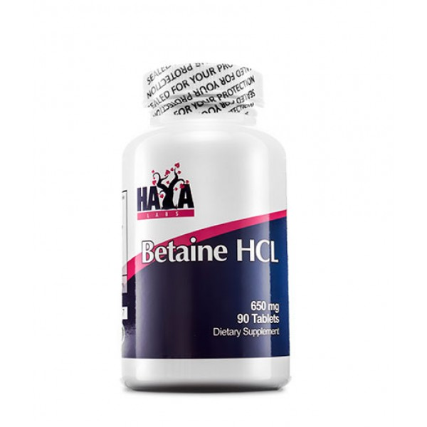 HAYA LABS Betaine HCL 650mg