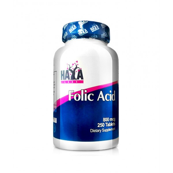 HAYA LABS Folic Acid 800mcg
