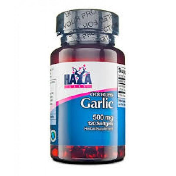 HAYA LABS Garlic 500mg (odorless)