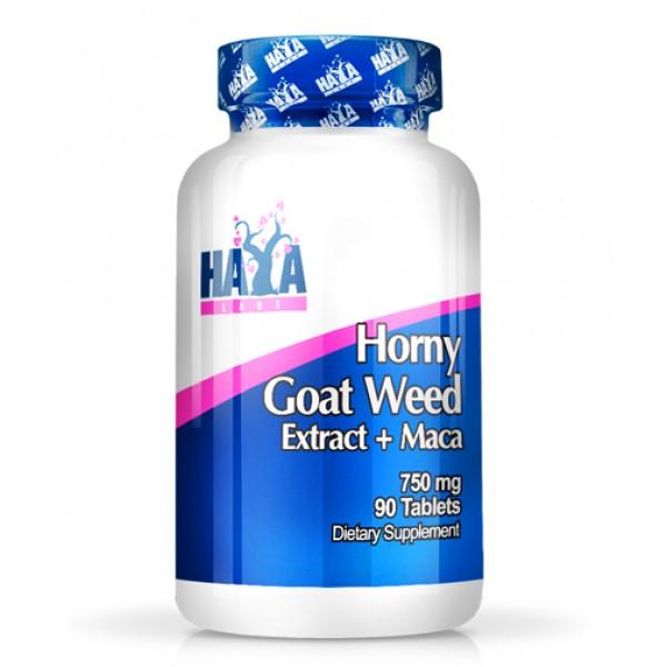 HAYA LABS Goat Weed Extract 750 mg + MACA