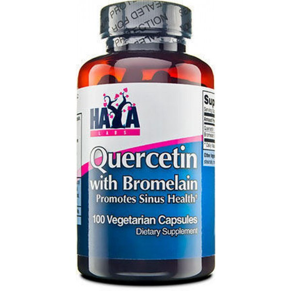 HAYA LABS Quercetin with Bromelain
