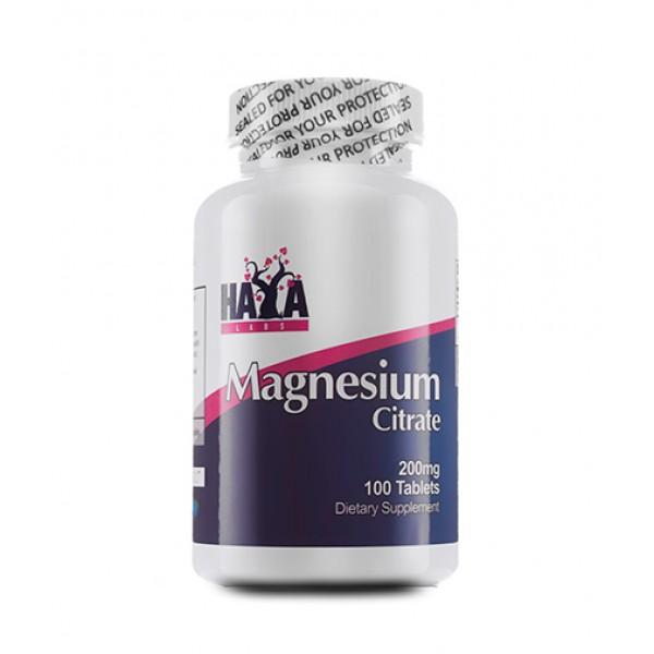 HAYA LABS Magnesium Citrate 200mg