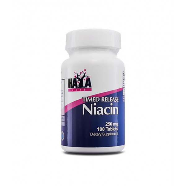 HAYA LABS Niacin /Time Release/ 250mg