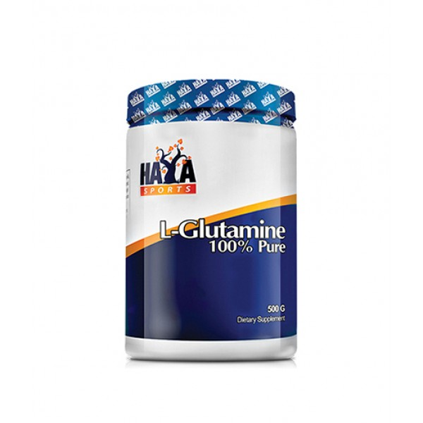 HAYA LABS Sports 100% Pure L-Glutamine 500g