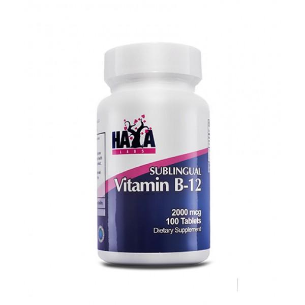 HAYA LABS Vitamin B12 / Sublingual / 500mcg