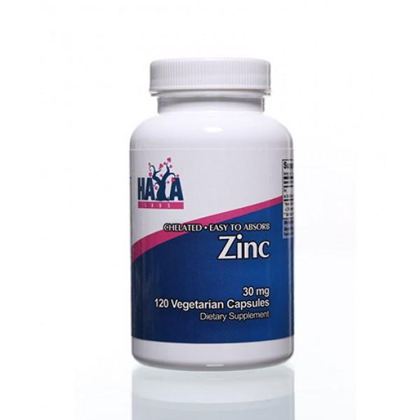 HAYA LABS Zinc /Chelated/ 30mg