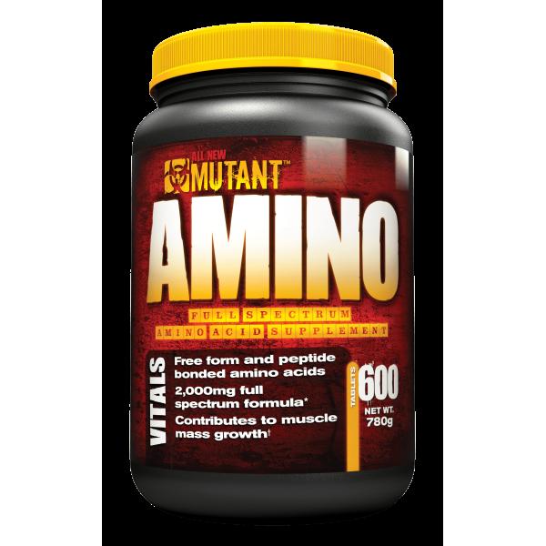 Mutant Amino - 600 tabs