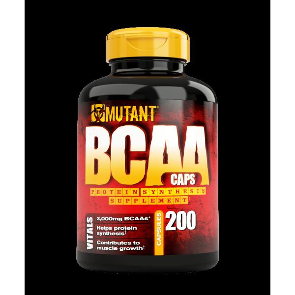 Mutant BCAA - 200 Caps