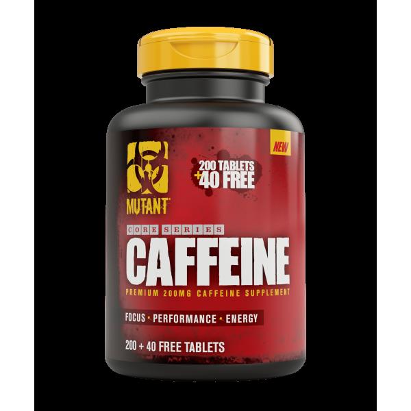 Mutant CAFFEINE Premium 200mg / 200tabs. + 40 FREE tabs