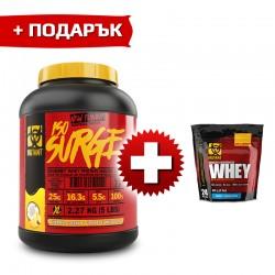 Mutant ISO SURGE - 2.270 кг + Mutant Whey - 0.908 кг. (FREE) ПРОМО СТАК