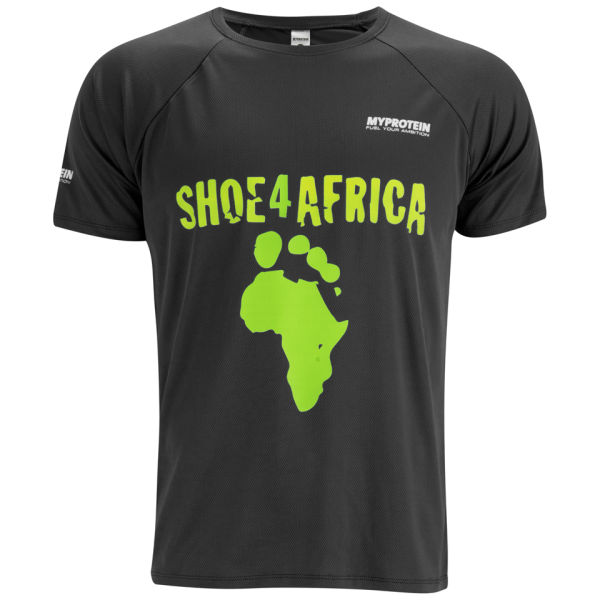 MYPROTEIN Men's Shoe4africa T-Shirt - Black