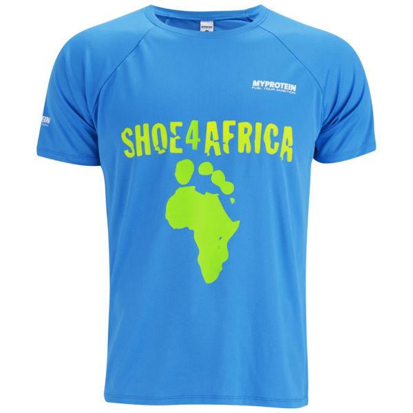 MYPROTEIN Men's Shoe4africa T-Shirt - Blue