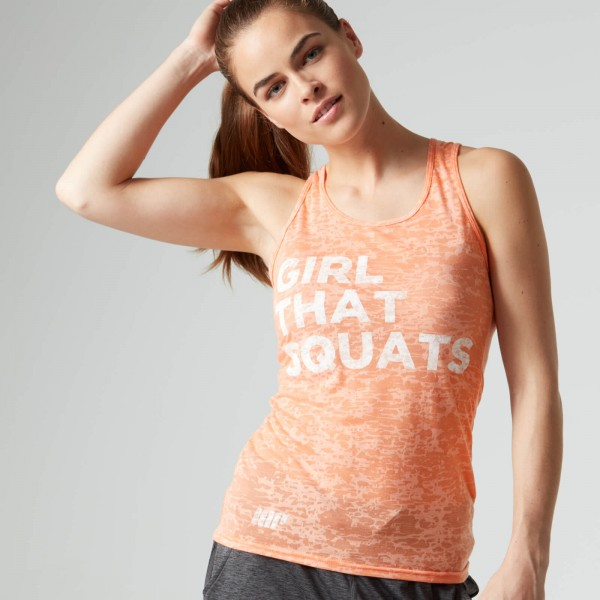 MYPROTEIN Women's Burnout Vest - Peach