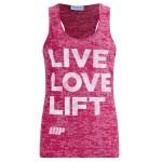 MYPROTEIN Women's Burnout Vest - Pink