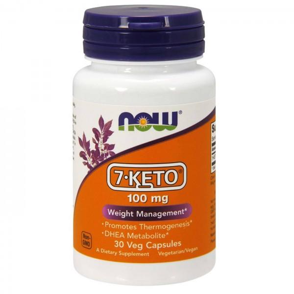 NOW FOODS 7-KETO 100 mg