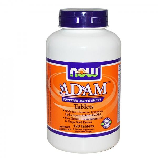 NOW FOODS ADAM Men's Vitamins tabs