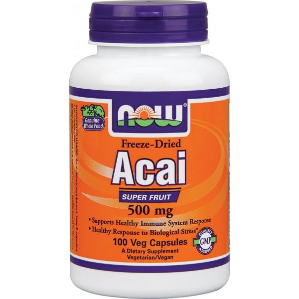 NOW FOODS Acai 500 mg