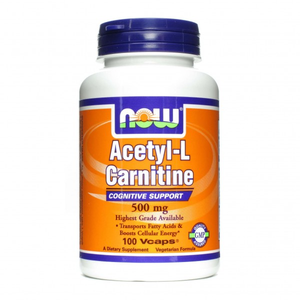 NOW FOODS Acetyl L-Carnitine 500 mg