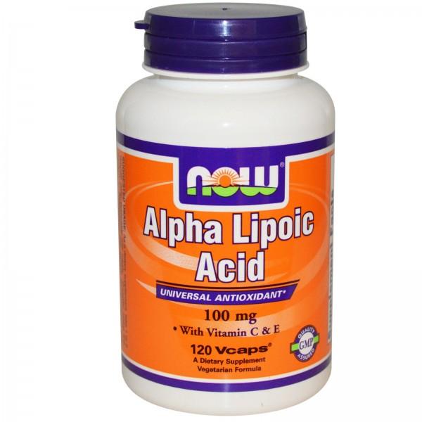 NOW FOODS Alpha Lipoic Acid 100 mg 120 caps
