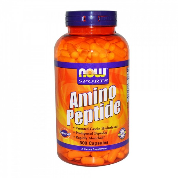 NOW FOODS Amino Peptide - 400 mg