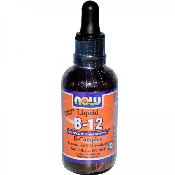 NOW FOODS B-12 Complex Liquid
