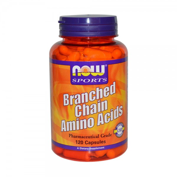 NOW FOODS Branched Chain Amino Acids 800 mg
