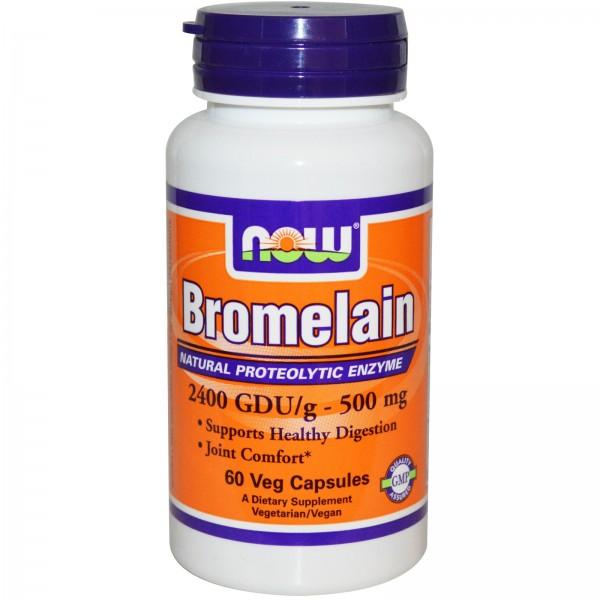 NOW FOODS Bromelain 500 mg
