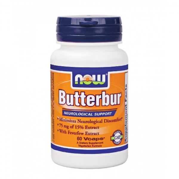 NOW FOODS Butterbur with Feverfew