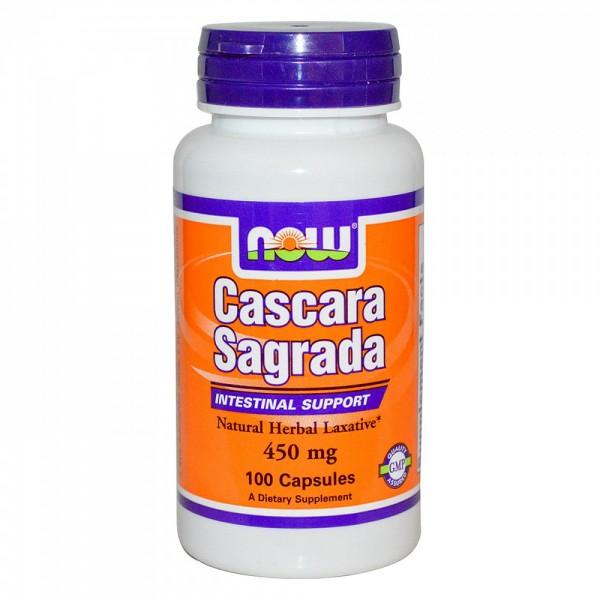 NOW FOODS Cascara Sagrada 450 mg