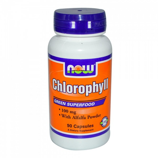 NOW FOODS Chlorophyll 100 mg