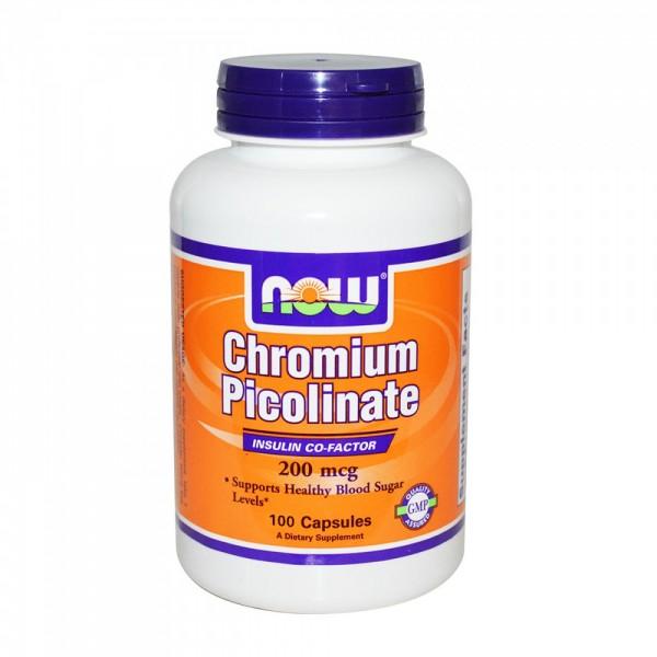 NOW FOODS Chromium Picolinate 200 mg