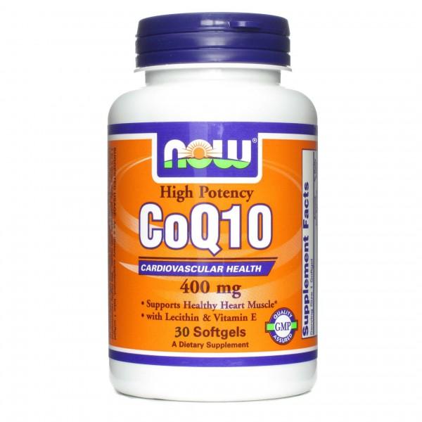 NOW FOODS CoQ10 400 mg