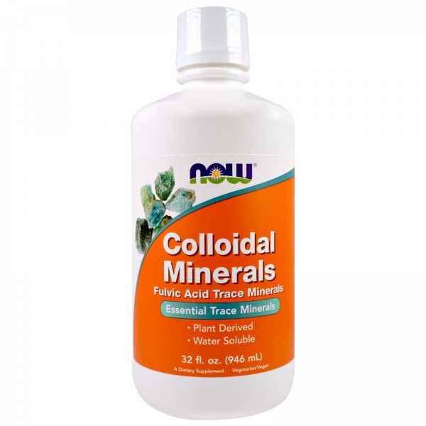 NOW FOODS Colloidal Minerals Original