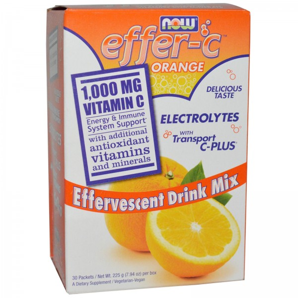NOW FOODS EFFER-C Orange