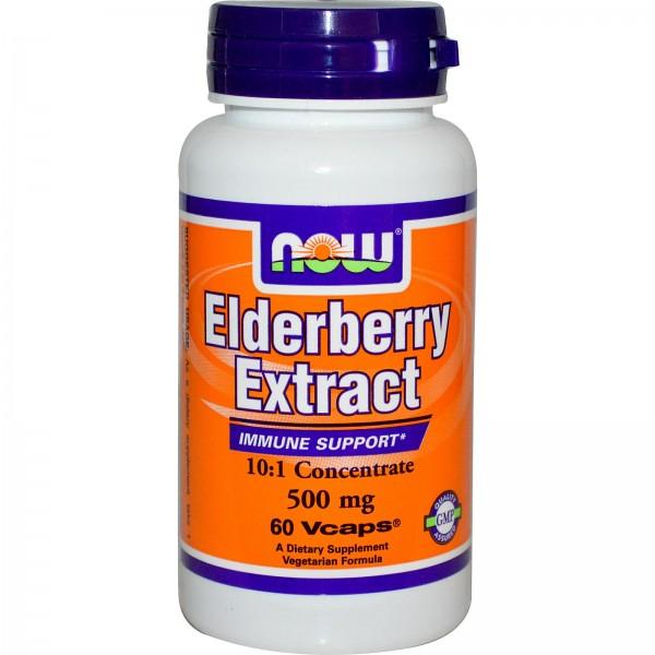 NOW FOODS Elderberry Extract 500 mg