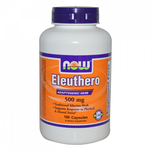 NOW FOODS Eleuthero 500 mg