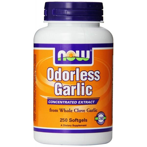 NOW FOODS Garlic Odorless Original